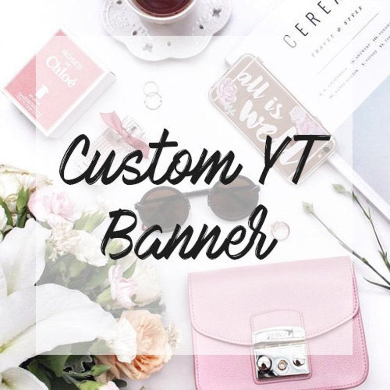 CUSTOM YOUTUBE / TWITCH Banner & End Slate  Fully Custom  image 0