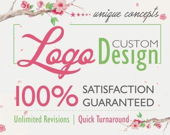 Logo, Logo Design Custom, Custom Logo Service, Logo Package, Unique Logo, Floral Logo, Royal Logo, Creative Logo, Business Logo, Best Logo