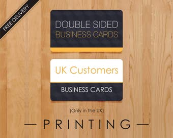 Business calling cards etsy uk reheart Images