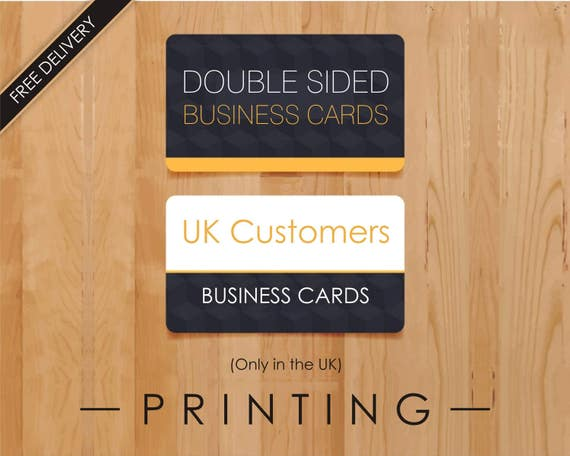 Business cards printing service print business card uk reheart Choice Image