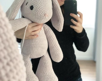 Wool package bunny LOU in large (approx. 50-60 cm)