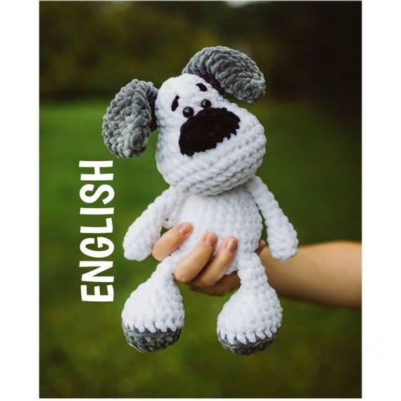 PDF ENGLISH Häkel Anleitung Elvis der Hund Amigurumi   Etsy