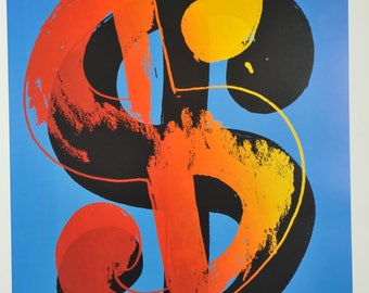 Warhol, Andy - Dollar sign - 80 x 60 cm