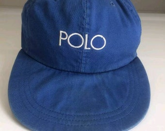 5c4359b317d Vtg Polo ralph lauren hi tech long bill hat osfa casino indian head rl 2000  p wing