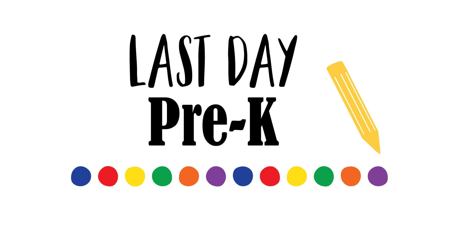 last day pre k svg girl svg svg saying school svg last day rh etsy com pre k clipart images pre k clip art free rocketship