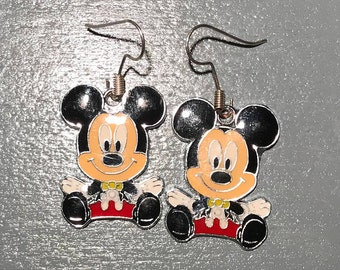 Mickey Mouse Earrings, 2 styles