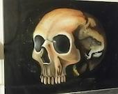 Yorick - original oil on ...