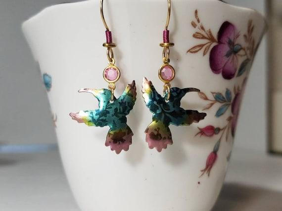 Holly Yashi bird earrings