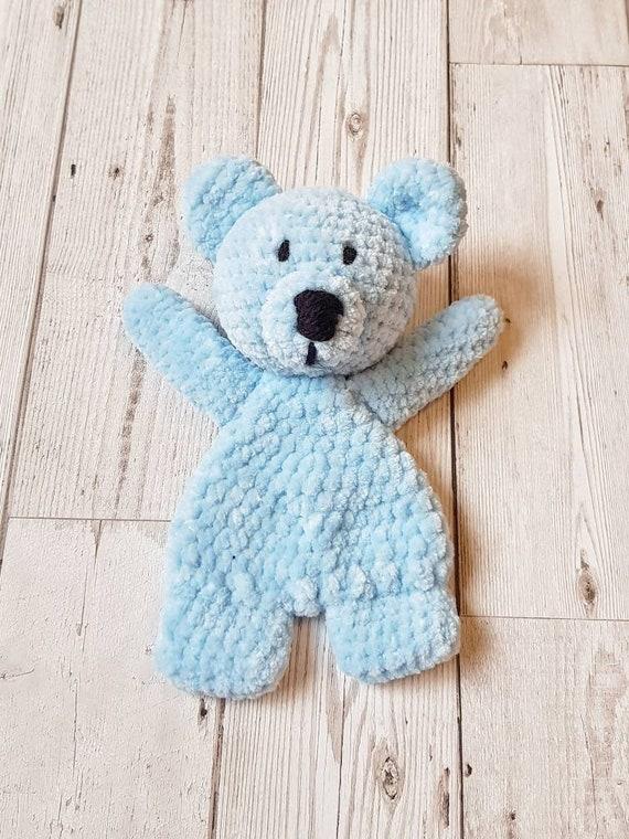 Bear Crochet Lovey Pattern - YouTube | 760x570