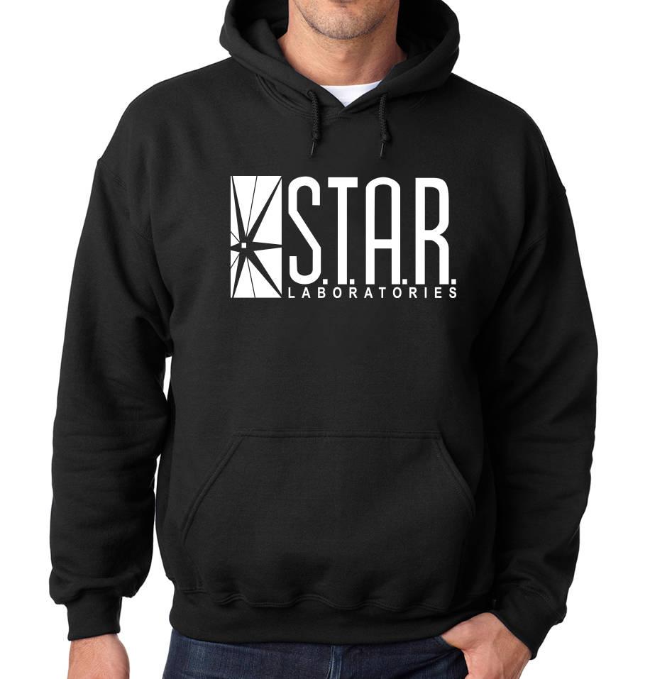 S.T.A.R. Labs étoile laboratoires laboratoires étoile Hoodie T-shirt le Flash d4b90e