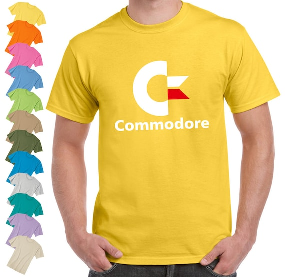 Commodore Computers Logo T-shirt Unisex - S to 2XL