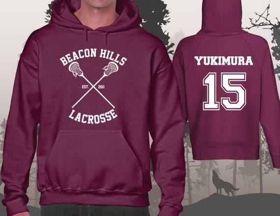 709a9a97fd3c50 Teen Wolf Hoodie Beacon Hills Lacrosse Hoodies Yukimura 15