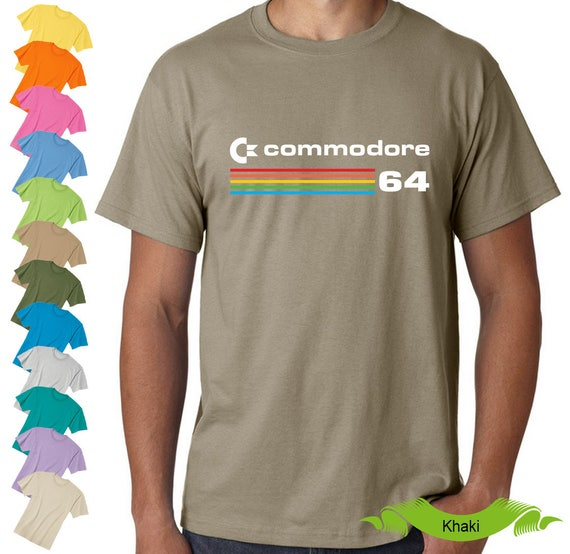 Unisex Commodore 64 Logo T-shirt - S to XXL