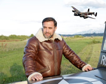 Men's Vintage Jackets & Coats mans pilot jacket B-6 41  AT vintagedancer.com