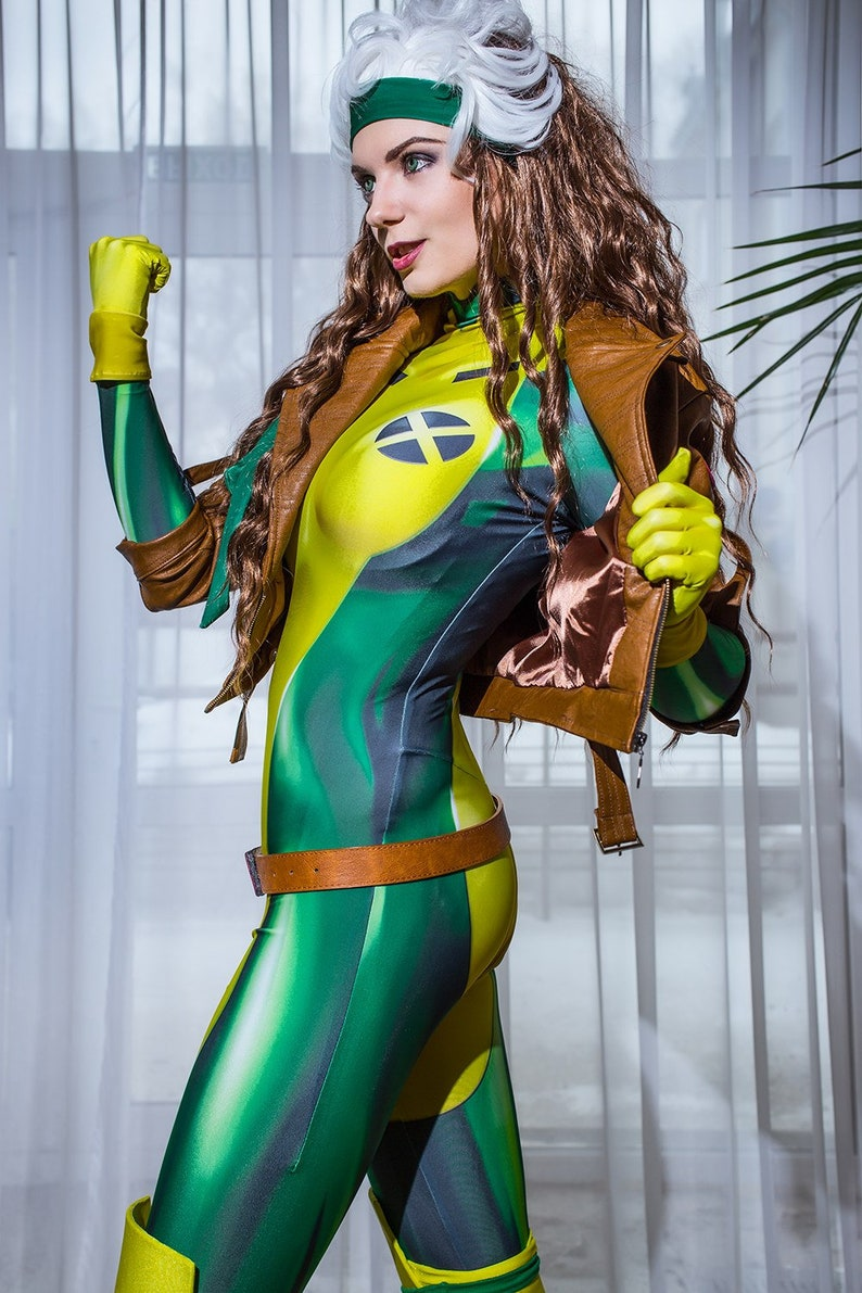 Rogue Marvel X Men Cosplay Print Comics