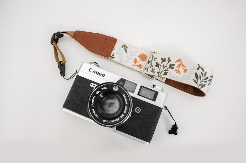 Camera Wrist Strap Wildflower Design  Photography Accessories Camera Strap Only