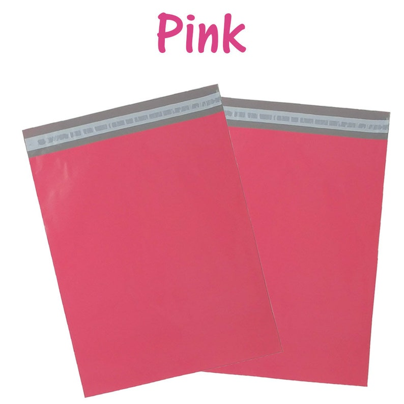 12x15.5 Shipping Bags 100 Pack 12x15.5 Poly Mailers Self Sealing Adhesive USPS Approved with Inner lining Pink Purple /& Sea Green Teal