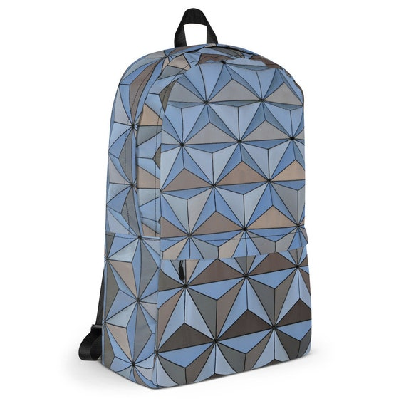 Spaceship Earth At Night Backpack, Disney Backpack, Epcot Bag by Etsy