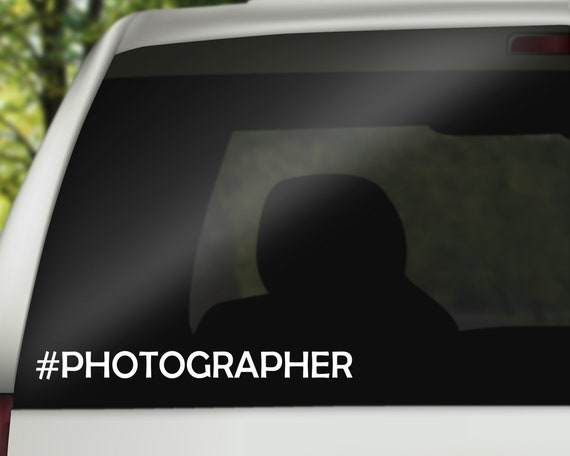 Photography Gift For Him or Her Photog Life Decal Sticker for Car or Laptop Photographer Decal