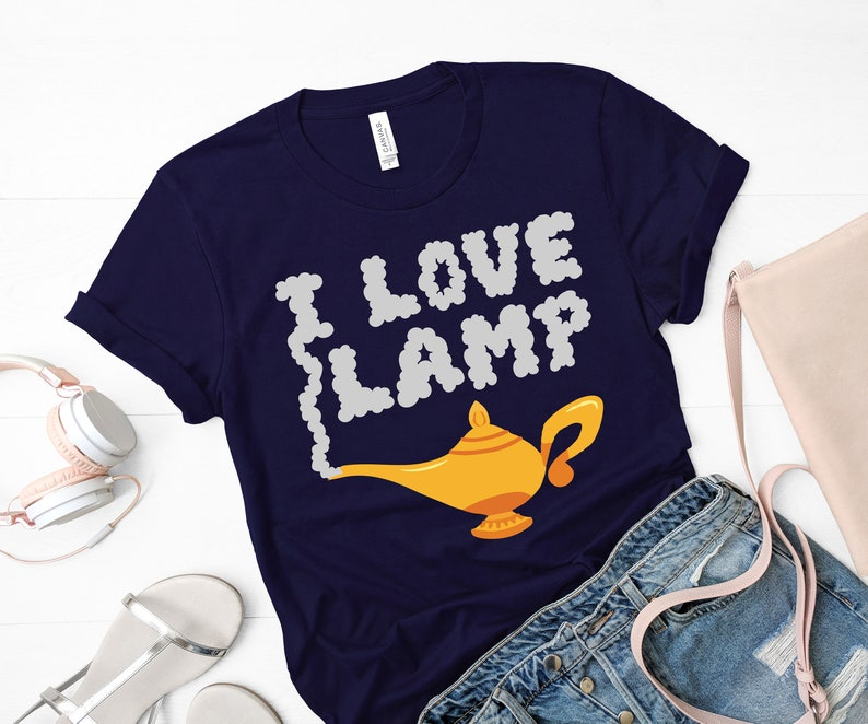 Aladdin Shirt, I Love Lamp Shirt, Disney Shirt, Anchorman Shirt