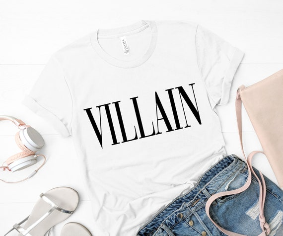 Villain Shirt, Fashion Shirt, Disney Shirt, Disney Gift by Etsy
