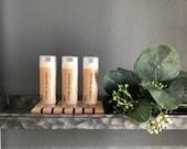 Lavender Peppermint Healing Lip Balm - Natural - Handmade - Chapstick - Moisturizing - Essential Oil