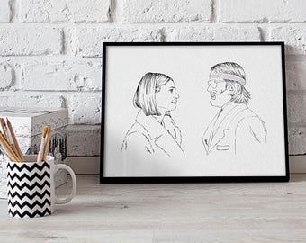 Margot & Richie Tenenbaum.