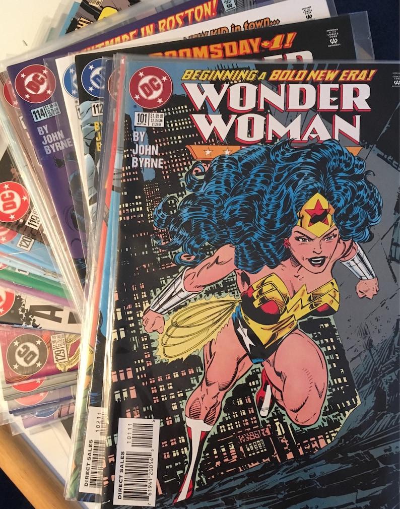 DC Wonder Woman Set of Comic Books 1996-1998
