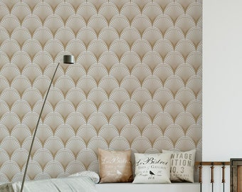 Art Deco Wallpaper Etsy