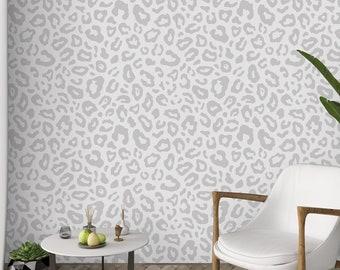Leopard Wallpaper Etsy