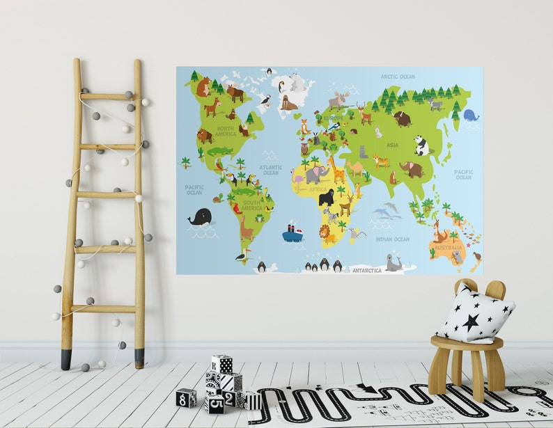 World Map removable wall decal for kids Colorful Educational wall decor on world map comforter set, world map dining room, world map wall office, world map wall decal, world map vintage, world map flooring, world map games, world map wall cling, world map lanterns, world map bookends, world map rings, world map mirrors, world map pillows, world map apparel, world map vases, world map wall paint, world map stationery, world map floral, world map wall mural, world map decorative box,