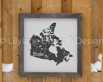 Canada Home SVG file