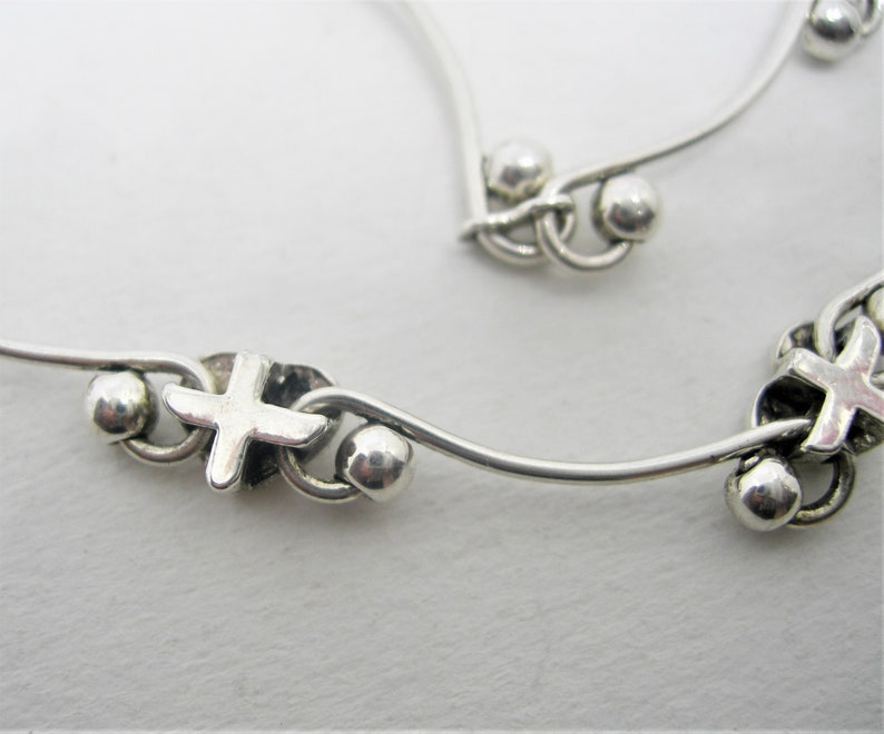 Art Designed necklace with little hearts