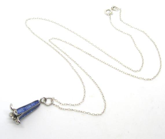 Blue bells Sterling silver jewellery set - image 8