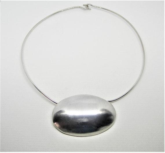 Dinosaur design sterling silver necklace