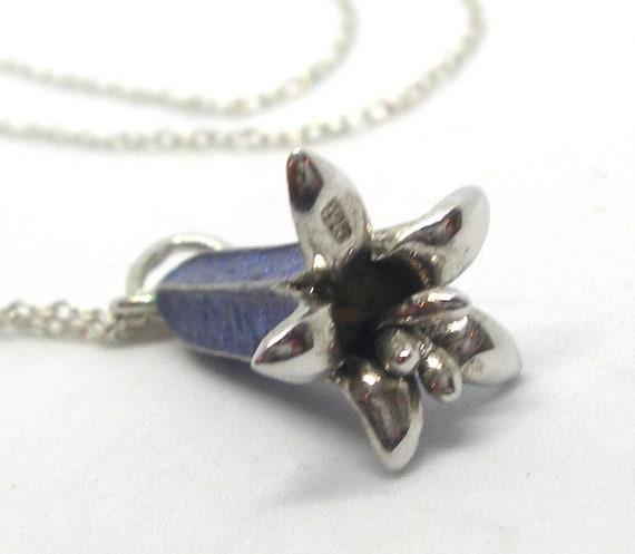 Blue bells Sterling silver jewellery set - image 9