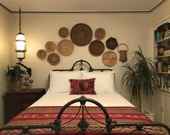 Peruvian Throw, Peruvian Blanket, Bed Throw, South American Throw, Handwoven, Handwoven Throw, South American Blanket, Bed Runner