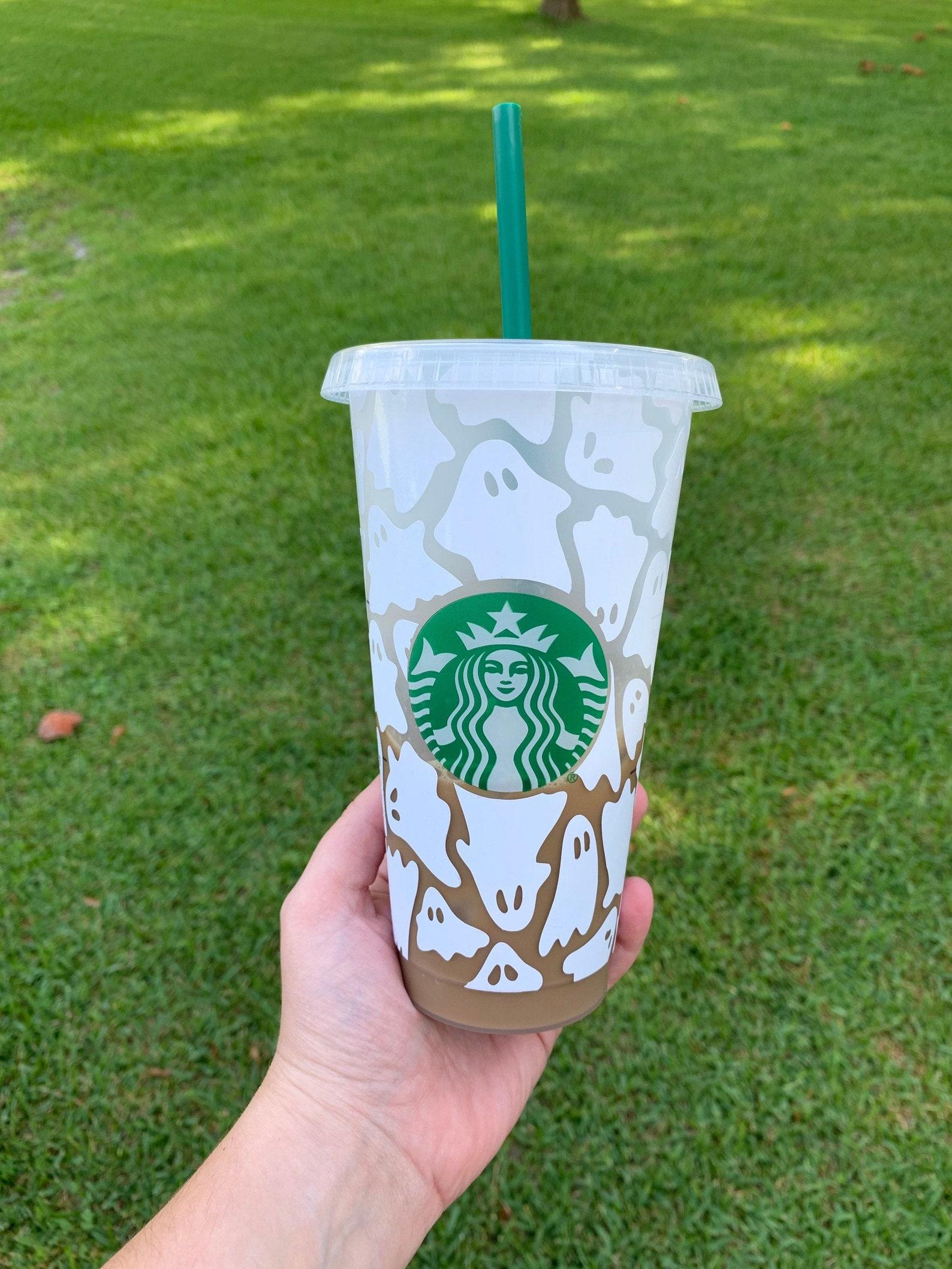 Ghost Starbucks Reusable Tumblers