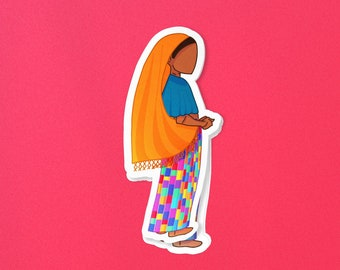 Metztitunal Bubble-free stickers – 100% of Proceeds Donated to El Salvador's Indigenous Nawat Teachers