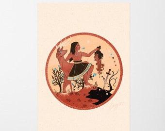 Masat of Izalco – Legends of El Salvador Poster