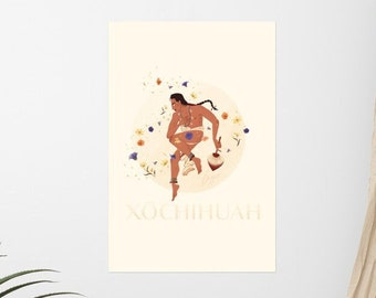 Xōchihuah Poster – Indigenous Queer Wall Art