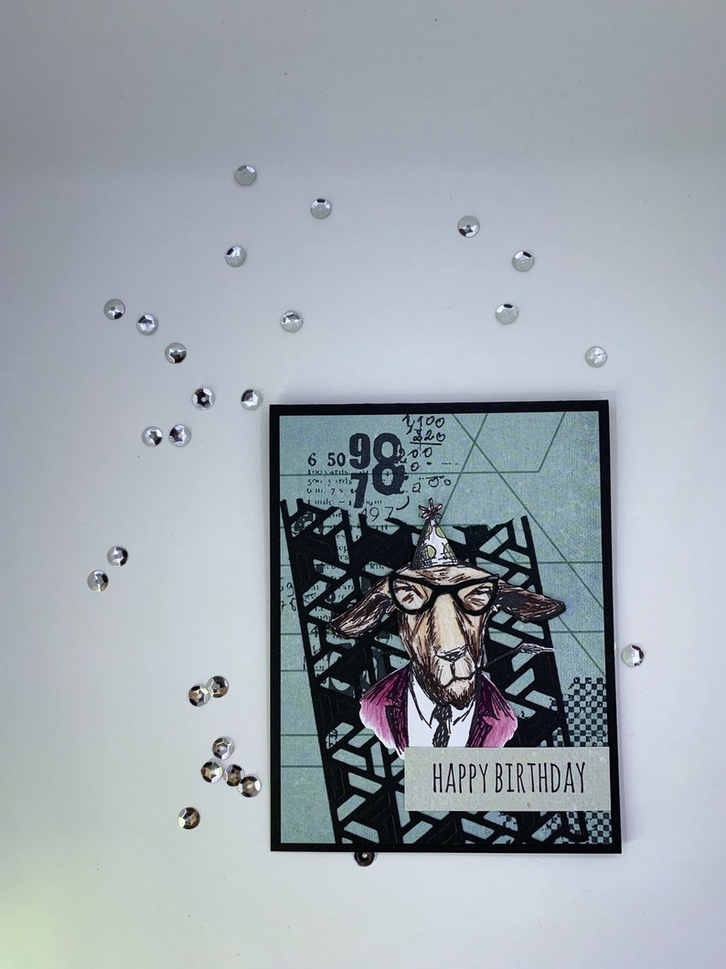 Funny Birthday Greeting Card Handmade