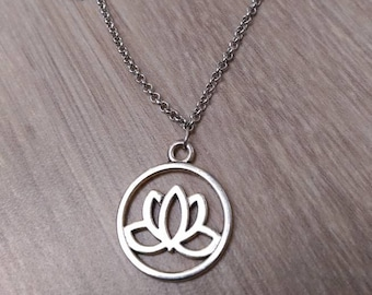 Necklace and the lotus flower