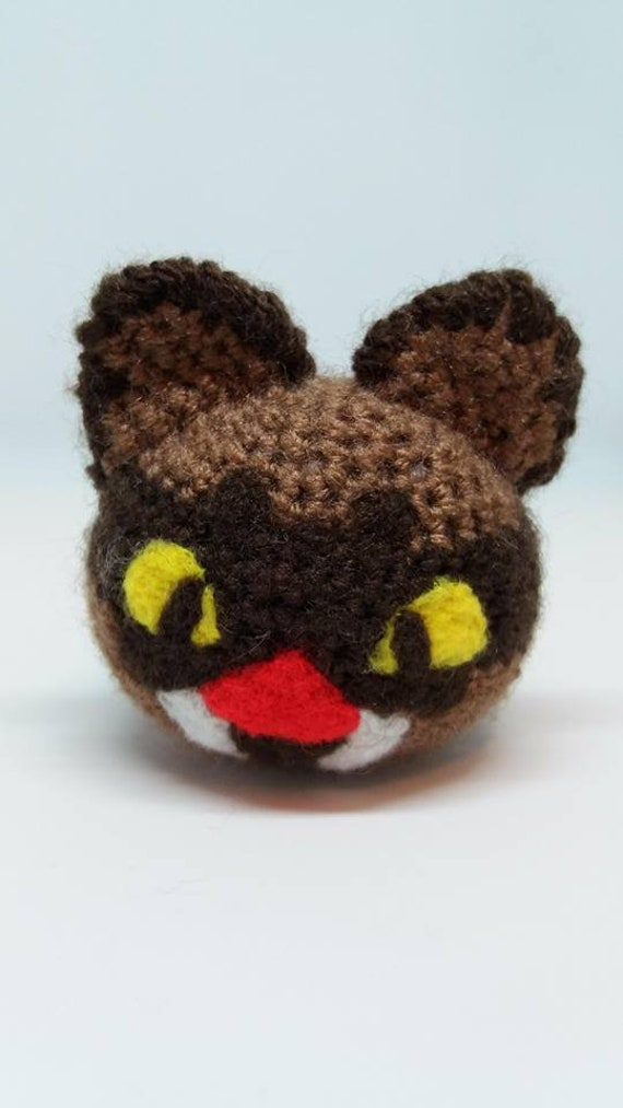 Hunter / Saber Largo - Slime Rancher / amigurumi / teddy / toy / plush /  kawaii / ornament / crochet / blob / ninja / sabertooth / cute