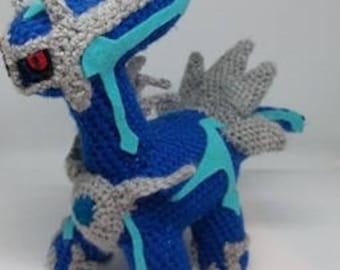 Dialga Crochet Pattern / Pokemon