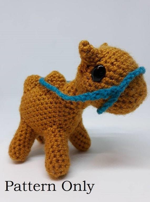 Carl the Camel Amigurumi crochet pattern PDF download hump day | Etsy | 766x570
