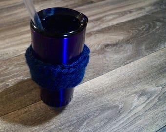 Navy Blue Cup cozy