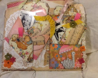 Baby Shower Altered File Folder