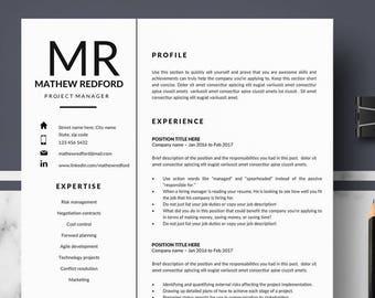 professional resume templates minimalist resume cv template for pages modern resume cv resume cv design instant download cv
