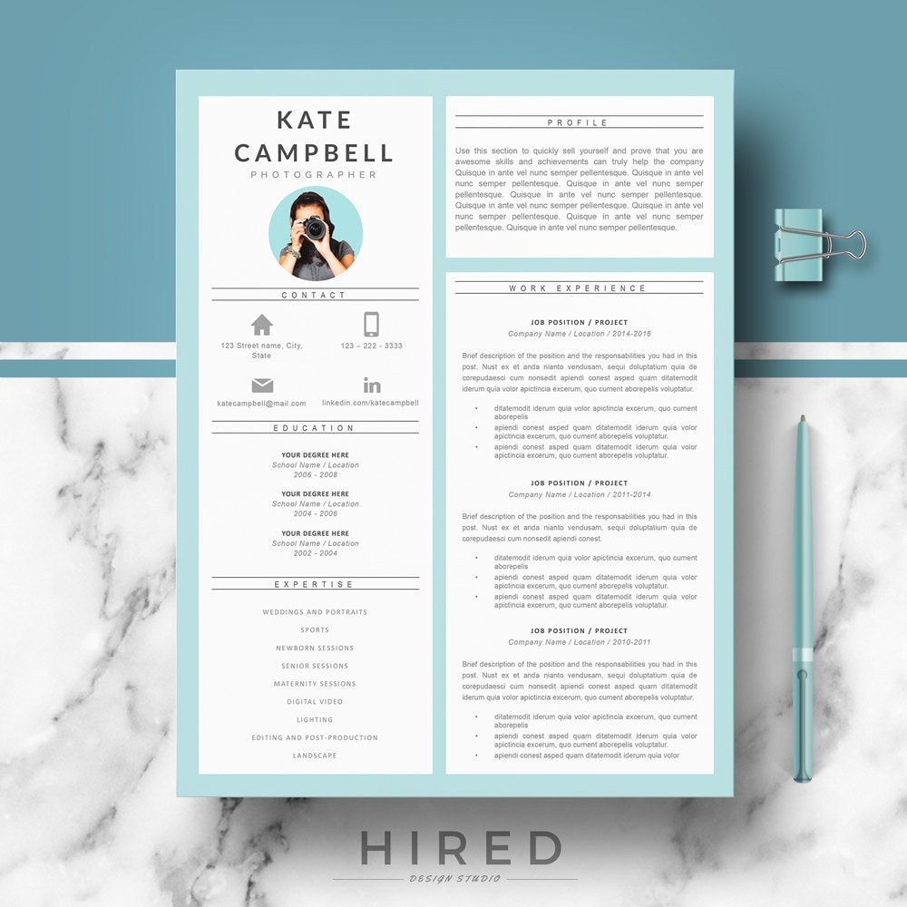 modern  u0026 creative resume cv template resume templates for